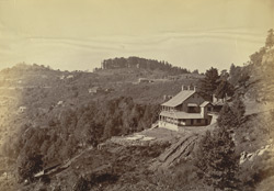 Distant view of a house, Murree